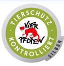 TIERSCHUTZ-KONTROLLIERT-Silber