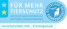 Label-Info: Tierschutzlabel - Für mehr Tierschutz Einstiegsstufe