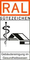 Label-Info: RAL Gütezeichen Gebäudereinigung im Gesundheitswesen