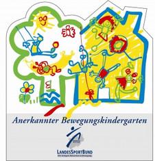Label-Info: Anerkannter Bewegungskindergarten des Landessportbundes NRW