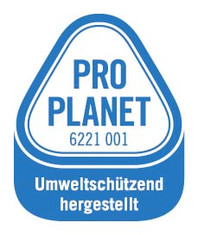 Label-Info: PRO PLANET Recyclingpapier Umweltschützend hergestellt