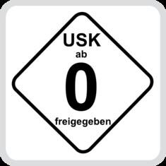 Label-Info: USK 0 Freigegeben ohne Altersbeschränkung