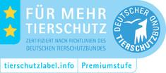 Label-Info: Tierschutzlabel - Für mehr Tierschutz Premiumstufe