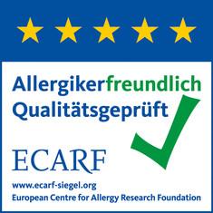 Label-Info: ECARF-Qualitätssiegel für allergikerfreundliche Nahrungsmittel