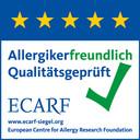 ECARF-Qualitätssiegel-allergikerfreundliche Hotels und Ferienwohnungen