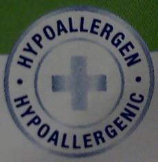 Label-Info: Hypoallergen / Allergenfrei