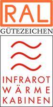 Label-Info: RAL Gütezeichen Infrarot-Wärmekabinen