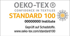 Label-Info: STANDARD 100 by OEKO-TEX®