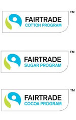 Label-Info: Fairtrade-Programme Kakao, Zucker, Baumwolle