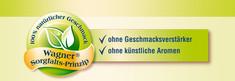 Label-Info: Wagner Sorgfalts-Prinzip Ohne Geschmacksverstärker Ohne künstliche Aromen