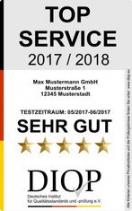 Label-Info: Top Service (DIQP)