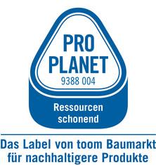 Label-Info: PRO PLANET Dämmstoffe Ressourcen schonend