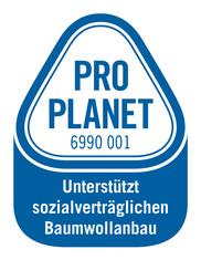 Label-Info: PRO PLANET CmiA Textilien Unterstützt sozialverträglichen Baumwollanbau