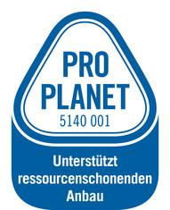 Label-Info: PRO PLANET Instantkakao Unterstützt ressourcenschonenden Anbau