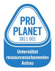 Label-Info: PRO PLANET Schokolade (UTZ Certified) Unterstützt ressourcenschonenden Anbau