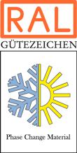 Label-Info: RAL Gütezeichen Phase Change Material