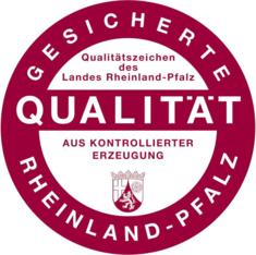 Label-Info: Qualitätszeichen Rheinland-Pfalz Gesicherte Qualität mit Herkunftsangabe