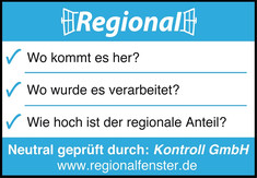 Label-Info: Regionalfenster