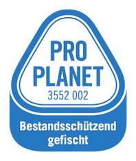 Label-Info: PRO PLANET Thunfischfilets Bestandsschützend gefischt