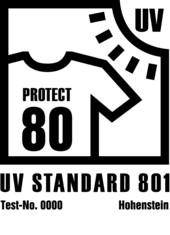 Label-Info: UV Standard 801 Bekleidung und Bekleidungsstoffe