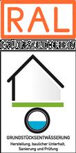 Label-Info: RAL Gütezeichen Grundstücksentwässerung