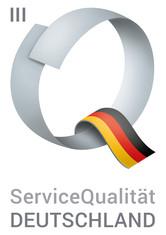Label-Info: ServiceQualität Deutschland Stufe III