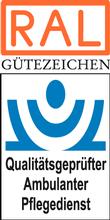 Label-Info: RAL Gütezeichen Qualitätsgeprüfter Ambulanter Pflegedienst