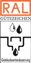 Label-Info: RAL Gütezeichen Gebäudeentwässerung