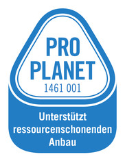 Label-Info: PRO PLANET Teigwaren Unterstützt ressourcenschonenden Anbau