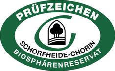 Label-Info: Prüfzeichen des Biosphärenreservates Schorfheide-Chorin