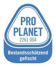 Label-Info: PRO PLANET Seelachs Bestandsschützend gefischt