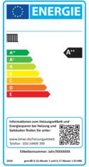 Label-Info: Nationales Effizienzlabel für Heizungsaltanlagen