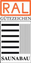 Label-Info: RAL Gütezeichen Saunabau und Saunabau aus Massivholz