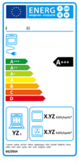 Label-Info: EU-Energielabel Elektrobacköfen