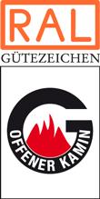 Label-Info: RAL Gütezeichen Offener Kamin