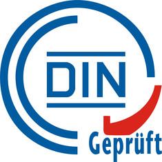 Label-Info: DIN-Geprüft