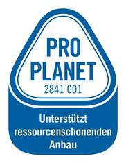Label-Info: PRO PLANET Backartikel zur Verzierung Unterstützt ressourcenschonenden Anbau