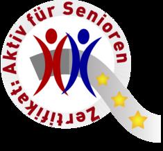 """Label-Info: Zertifikat """"Aktiv-für-Senioren"""""""