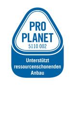 Label-Info: PRO PLANET Tee Unterstützt ressourcenschonenden Anbau