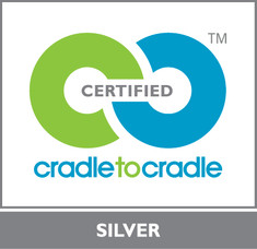 Label-Info: Cradle to Cradle Certified™ Silber