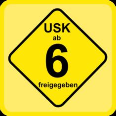 Label-Info: USK 6 Freigegeben ab 6 Jahren