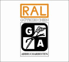 Label-Info: RAL Gütezeichen Abbrucharbeiten