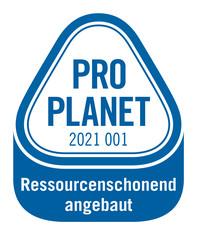 Label-Info: PRO PLANET Margarine und Speisefette Ressourcenschonend angebaut
