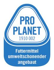 Label-Info: PRO PLANET Eier Futtermittel umweltschonender angebaut