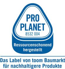 Label-Info: PRO PLANET Leimholz Ressourcenschonend hergestellt