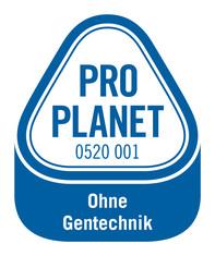 Label-Info: PRO PLANET Hähnchen Futtermittel umweltschonend angebaut Ohne Gentechnik