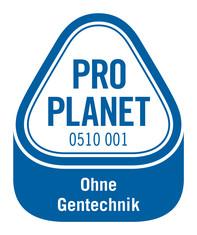 Label-Info: PRO PLANET Pute Futtermittel umweltschonend angebaut Ohne Gentechnik