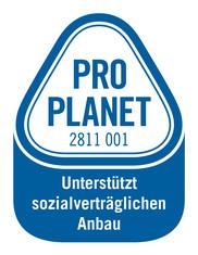 Label-Info: PRO PLANET Haselnüsse Unterstützt sozialverträglichen Anbau