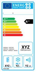 Label-Info: EU-Energielabel Haushaltskühl- und -gefriergeräte