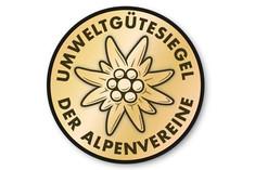 Label-Info: Umweltgütesiegel Alpenvereinshütten